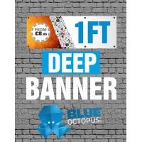 1ft Deep banner